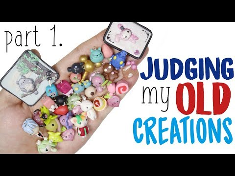 Judging my OLD Craft Creations/Sculptures: Savage for some, Love for others