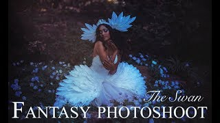 Fantasy Photoshoot BTS - The Swan - Ballet