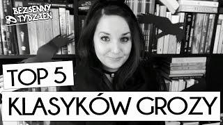 ☠ TOP 5 KLASYCZNYCH POWIEŚCI GROZY + Bezsenny KONKURS! [WielkiBuk.com]