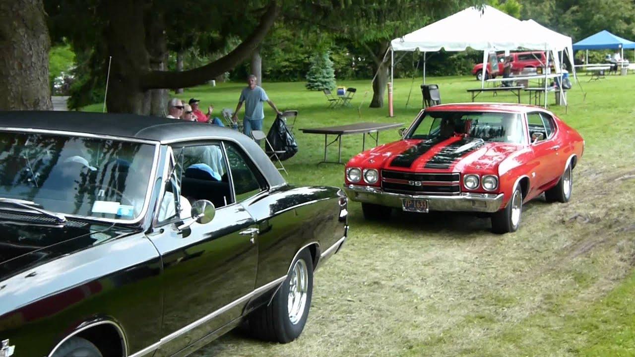 Vintage autos at the Maryknoll Car Show - YouTube