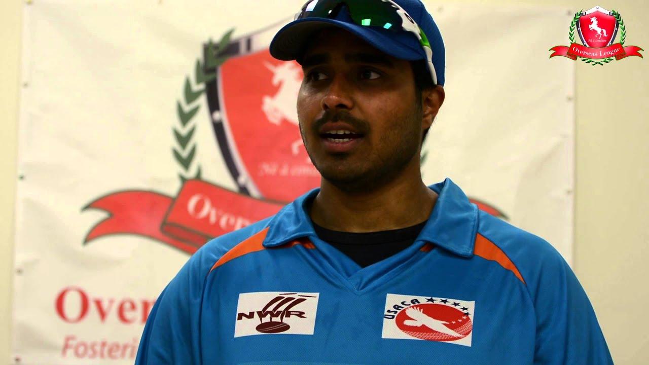 Srini Santhanam USACA T20 Day 1 Srini Santhanam YouTube