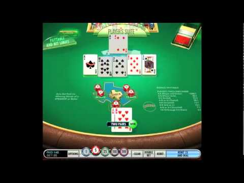 Texas Holdem Bonus Poker® Online Gameby IGT - Game Play Video