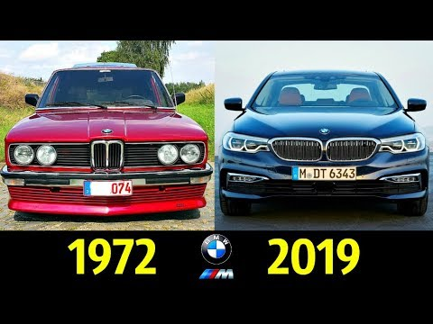 BMW 5 Серии - Эволюция (1972 - 2019) !