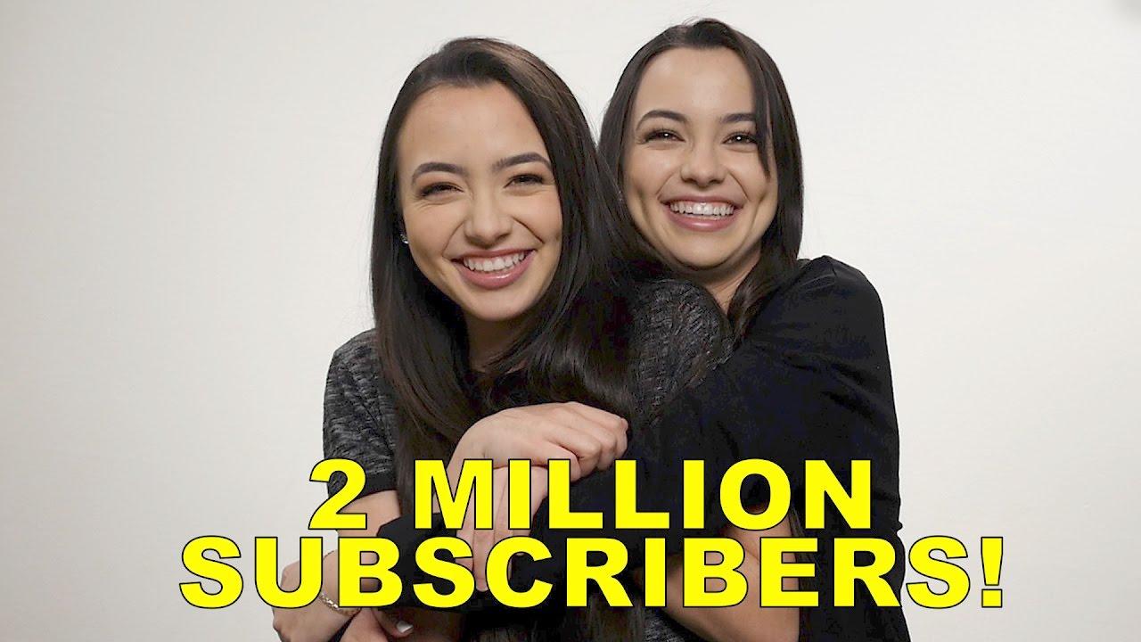2 million subscribers merrell twins youtube