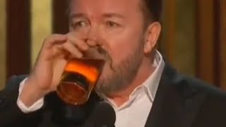 Ricky Gervais and the Golden Goal of the Decade - John Ward