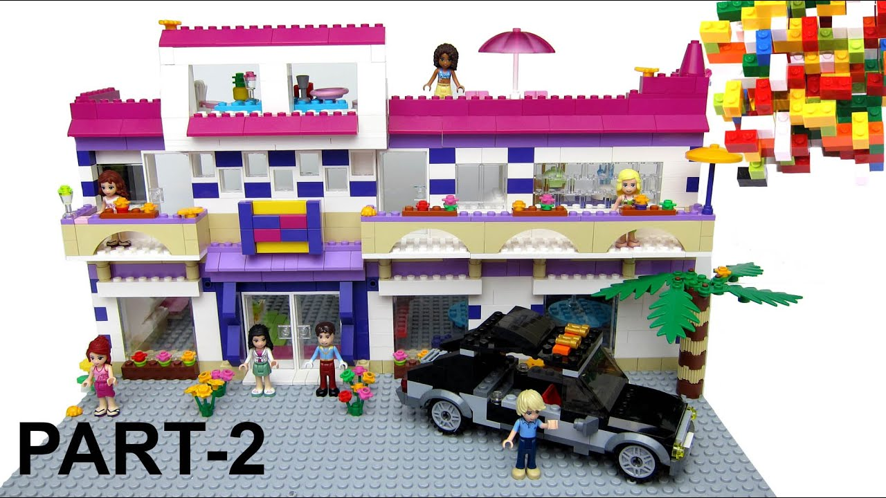 How To Build Lego Friends Grand Hotel