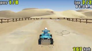 ATV Quad Power Racing (Gameboy Advance Gameplay)
