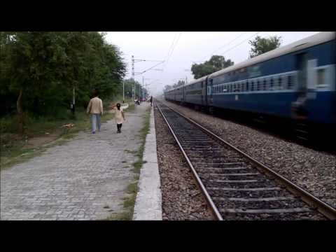 "[INDIAN RAILWAYS] Avadh Assam Express ""The Longest Running Daily Train"""