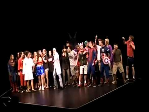 """""""2013 Captain Amazing and the Superheroes of Camp Tuolumne at The Berkeley Rep!"""