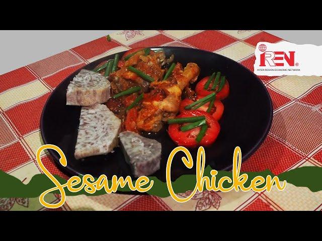 Perfect Simsim (sesame) Chicken
