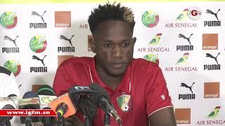 "Amou Junior (Congo) : ""difficile de jouer contre Sadio Mané"""
