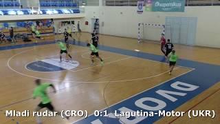Handball. Lagutina-Motor (UKR) - Mladi rudar (CRO). U16 boys. TROPHY-2018. Smederevo.