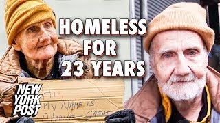 Homeless Man Shares What It's Like to Beg for 23 Years | New York Post