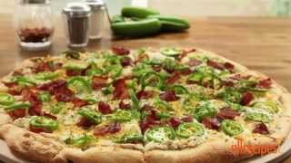 Pizza Recipes - How To Make Jalapeno Popper Pizza