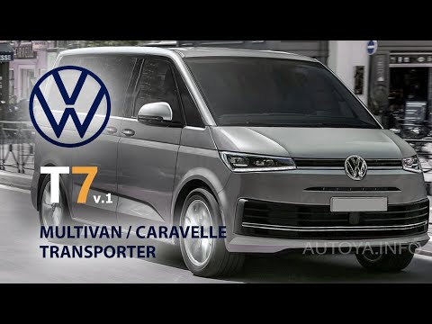 New Volkswagen T7 2020 Or 2021 - All We Know About Transporter, Multivan And VW Caravelle T7