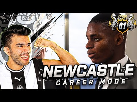 MIKE ASHLEY OUT REBUILDING NEWCASTLE BEGINS - FIFA 19 NEWCASTLE CAREER MODE 1