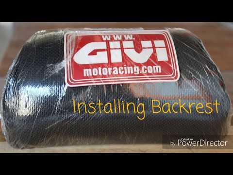Mio mxi 125 Vlog ( Givi backrest and showa axle)
