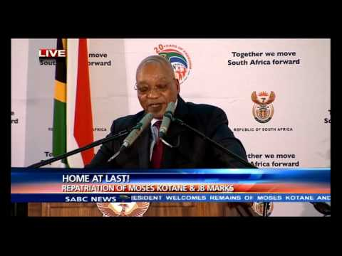 Kotane, Marks were great mentors: Zuma