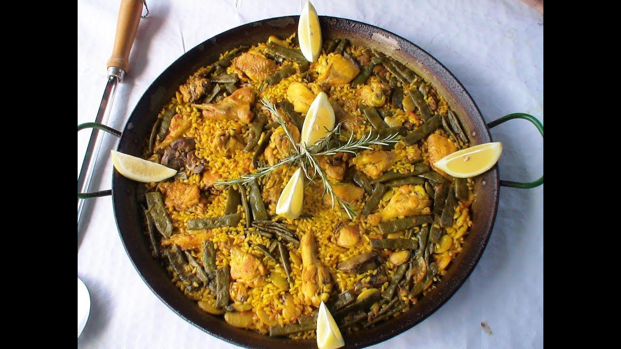 Recetas De Cocina Española Paella Valenciana | Receta Paella Valenciana La Autentica Receta De Valencia El