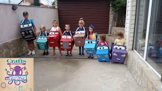 How to make Disney cartoon car MacQueen for kids birthday party