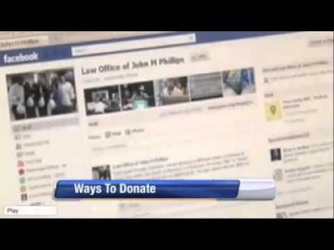 Charity - Law Office of John Phillips News Story on WJXT on his Donations to Charity & Giving Back