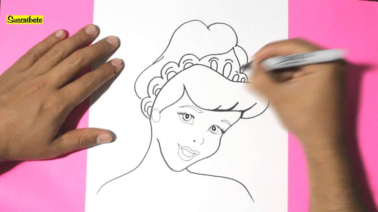 Como dibujar a cenicienta l How to draw cinderella - como dibujar ...