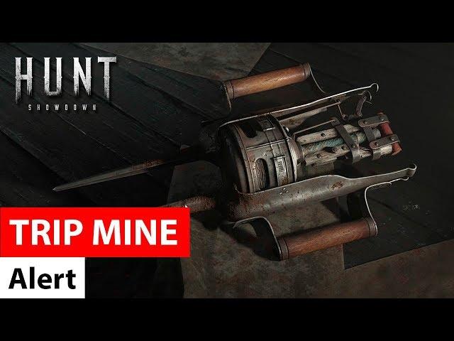 Alert Trip Mine - Hunt: Showdown / сигнальная мина ловушка