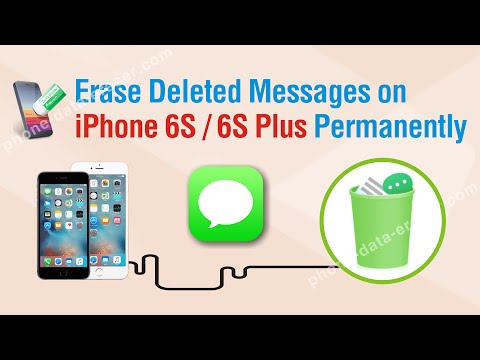 How to Erase Deleted Messages on iPhone 6S / 6S Plus Permanently