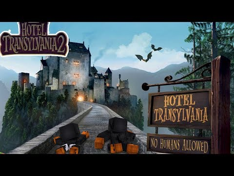 Minecraft - HOTEL TRANSYLVANIA - NO WAY OUT OF THE SCARY HOTEL