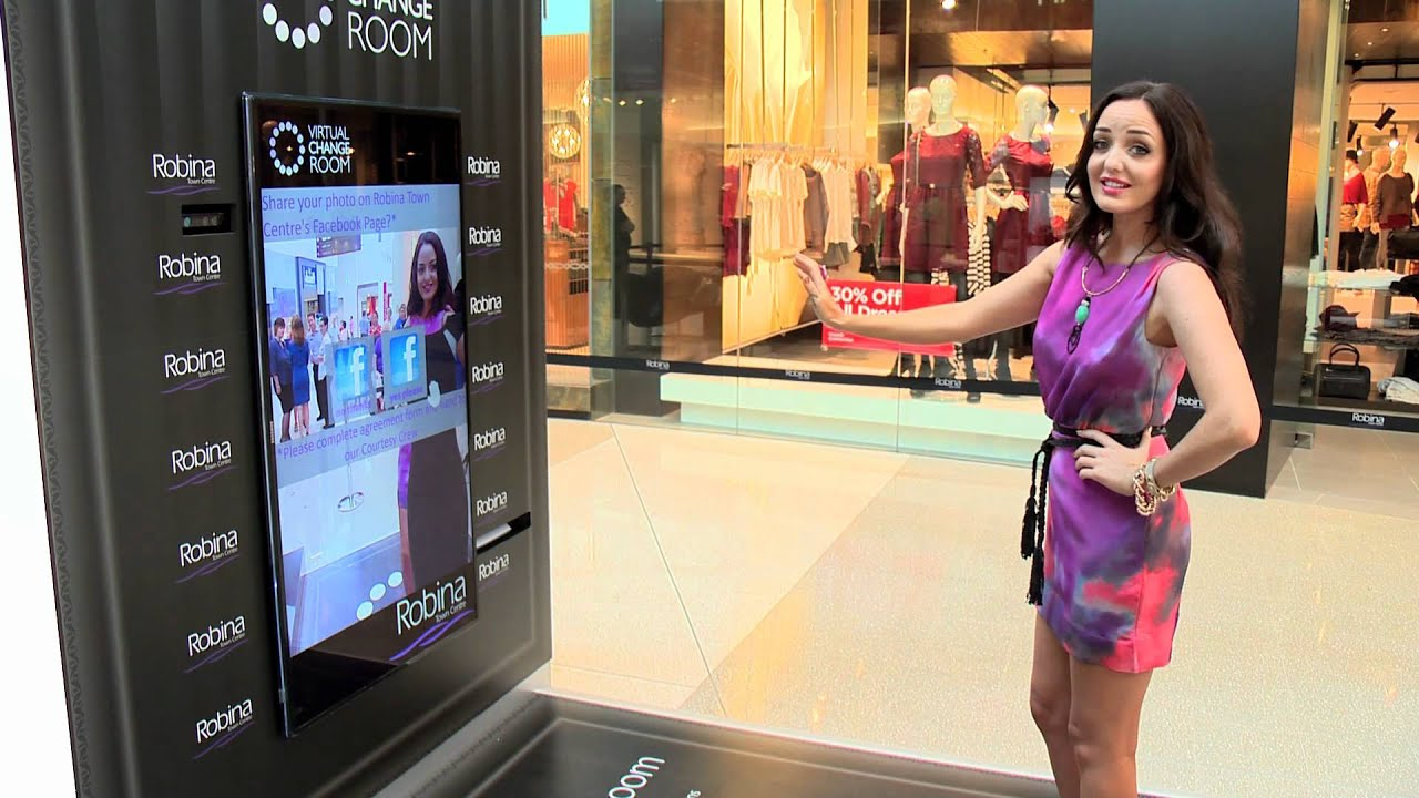 Virtual Change Room Launch At Robina Town Centre Youtube