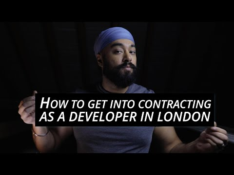 How To Get Into Contracting As A Developer In London