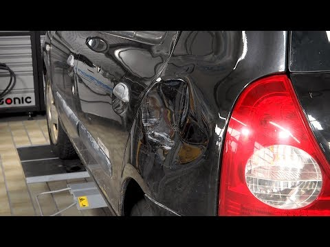 Side Panel Repair with the MIRACLE Gluing Technology on a Renault Twingo
