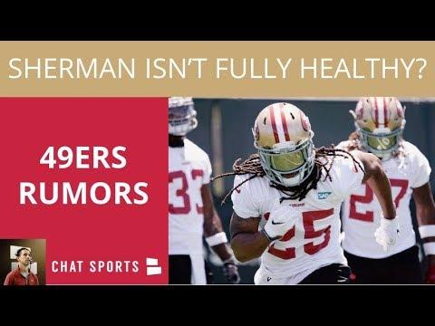 49ers Rumors: Richard Sherman's Health, Jerick McKinnon To Breakout, & Garoppolo A Top 5 QB?