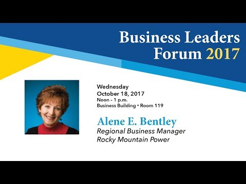 Business Leaders Forum 2017 Fall - Alene E  Bentley