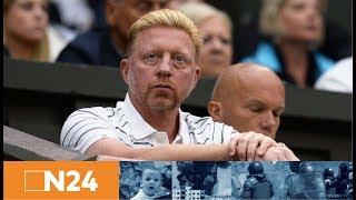 Pressekonferenz : Boris Becker soll als deutscher Herren-Tennis-Chef werden