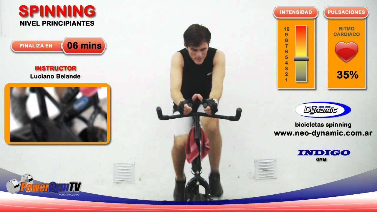Rutinas de spinning para adelgazar videos