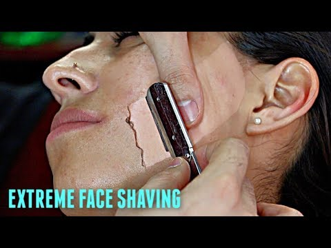 Hairy shave tube