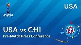 USA v. CHI - Post-Match Press Conference