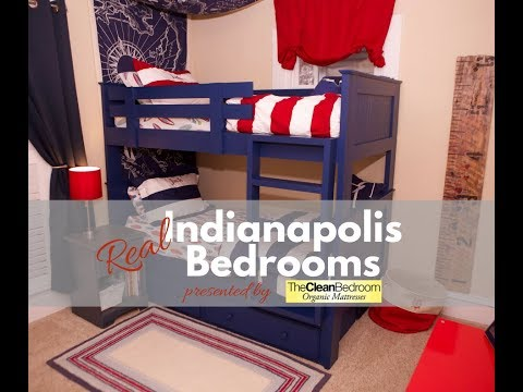 The Clean Bedroom: Spotlight on Real Bedrooms of Indianapolis | Kate |