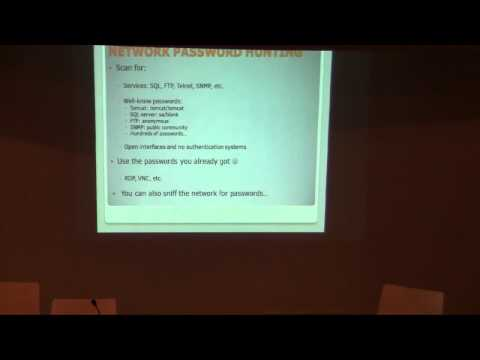 SOURCE Barcelona 2010: Passwords in Corporate Networks