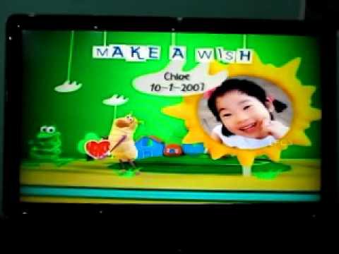 Ling Min on Disney Junior Birthday Book Jan 2012