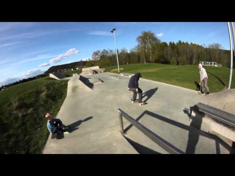 Tord Lyng ss bs tailslide bigspin