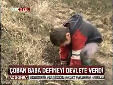 Çocuklar Define Buldu Çoban Baba Defineyi Devlete Verdi, 20.5 Kilo Sikke, Tekirdağ-Çerkezköy