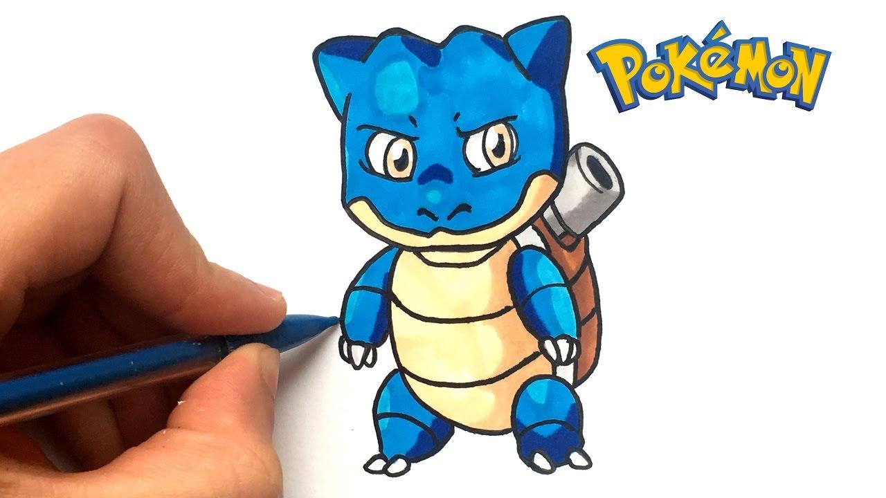 Draw Baby Blastoise Pokemon