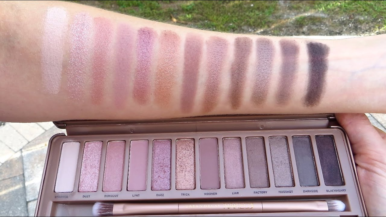 Naked3 Eyeshadow Palette by Urban Decay #4