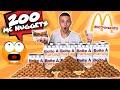 JE MANGE 200 CHICKEN MCNUGGETS de MCDONALD'S ! Vidéo 200K Abonnés !