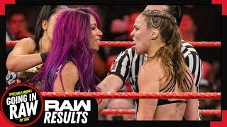 WWE Raw 1/21/19 Full Results & Review | Next Stop: Rumble! | Going In Raw Podcast