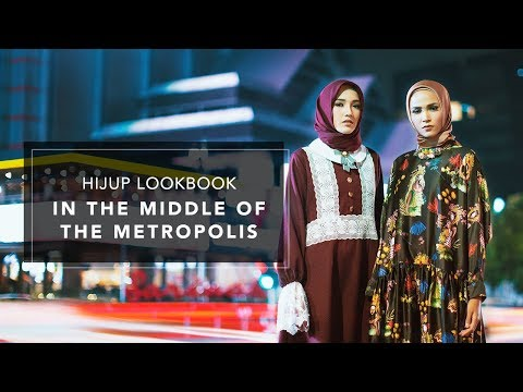 HIJUP Lookbook In The Middle of The Metropolis