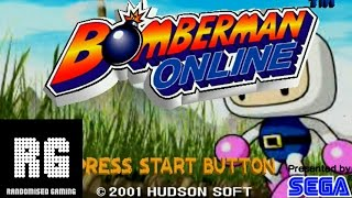 Bomberman Online - Sega Dreamcast - Animated opening and Normal Game Gameplay [HD 1080p 60fps]