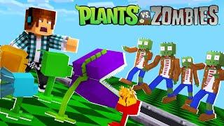Minecraft : AS MELHORES PLANTAS DO JOGO !! ( Plants Vs Zombies no MINECRAFT)